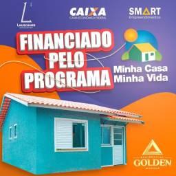 More No Bairro Planejado/Casa+lote200m2/suíte / use Seu Fgts ! ON