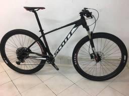 Bicicleta Scott Scale 980 ?2019? + Gps + Pedal Encaixe + Acessórios Tops