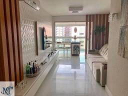 Apartamento 4 quartos com varanda gourmet e porteira fechada na Praia do Canto