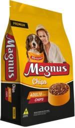 Ração Magnus Premium Chips Cães Adultos 25 kg