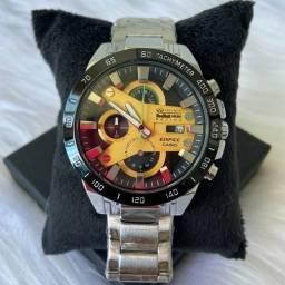 relógio casio edifice funcional R$220