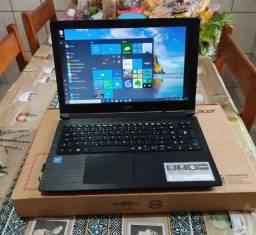 Notebook Acer --- Black Escovado --- 10 Meses De Uso -- impecaveL