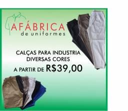 Título do anúncio: Calça para Industria a partir de R$39,00