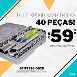 Kit Chaves Pito com 40 Peça (entrega grátis)