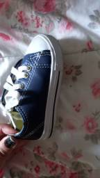 Tenis all star azul original $30 tam 21 zap *