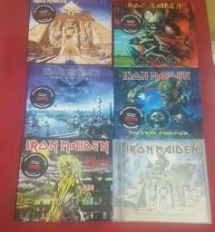 Título do anúncio: Iron maiden 6 CDs por 250