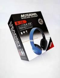 Fone de ouvido sem fio Bluetooth - Magena Headset Wireless. Novo na caixa