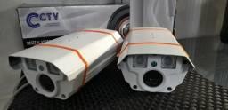 Câmera de Segurança com visão infra vermelha, alta qualidade de imagem
