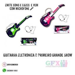 Título do anúncio: Guitarra infantil elétrica - saldão