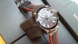 Relógio Megir 2063 - Original - Novo, na caixa - Cronógrafo