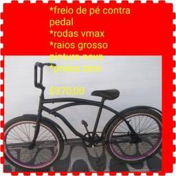 Bicicleta aro 26 freio de pé