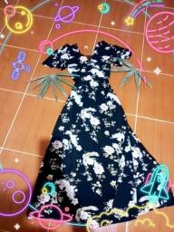 Título do anúncio: Promo 50,00 Lindo vestido longo modelo luxo .