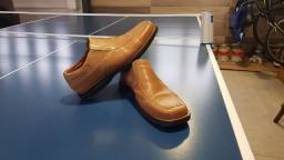 Sapato couro legítimo Fasolo seminovo Num. 41