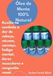 Óleo de Menta 100% Natural