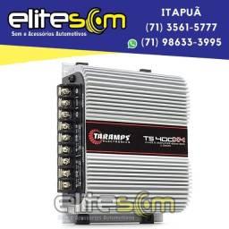 Módulo Amplificador Taramps Ts400x4 4 Canais 2 Ohms na Elite Som