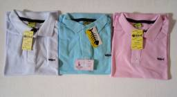 Camisas Polo aceito cartão crédito e débito