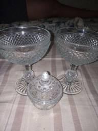 Taças de cristal