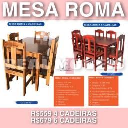 Mesa Roma mesa Roma mesa Roma de madeira