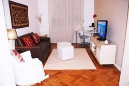 Leblon, apartamento de 2 quartos com vaga de garagem