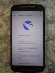 Título do anúncio: Moto G2 com Android 10 ATUALIZADO!