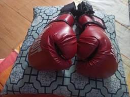 Luvas de boxe Knockout vermelhas