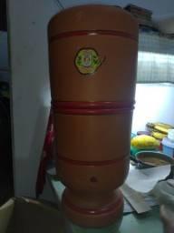 Filtro de barro 10 litros com 2 velas