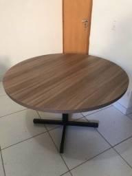 Vendo mesa para escritório Redonda