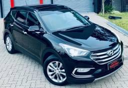 OPORTUNIDADE !!!Hyundai SANTA FÉ 2019 7 LUGARES 3.3 V6 AWD!! A MAIS TOP!!!