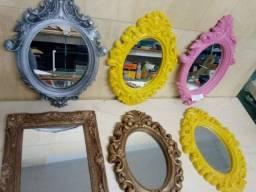 Título do anúncio: Espelhos/ molduras
