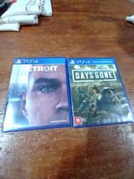 Jogos de PS4 (olhar descrição)