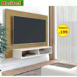 Título do anúncio: Painel P/ Tv Flash Cor Freijo com Off White