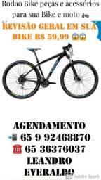 Revisão Mtb bicicleta bike ciclismo