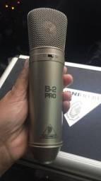 Microfone condensador studio estúdio