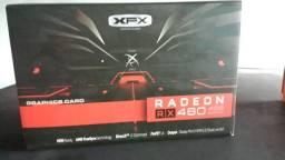 Placa de vídeo Rx460 4gb