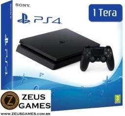 PS4 PlayStation 4 Slim 1 tb - Novo Lacrado - Loja Física Garantia 6 Meses - 12x no cartão