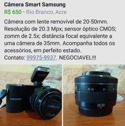 Vendo Câmera Smart Samsung