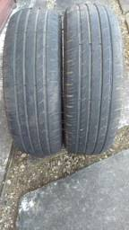 Par de pneus aro 14 meia vida