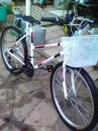 Bike feminina parece comprada hoje única dona com nota fiscal esta nova mesmo