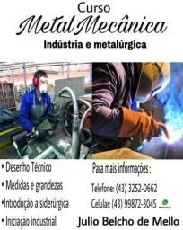 Curso Metal Mecânica ( Mecânica Industrial )