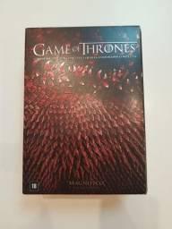 Box Game Of Thrones - Original - 1° A 4° Temporada