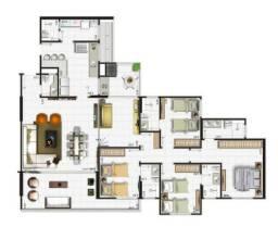 Apartamento no Edf Riviera Goiabeiras