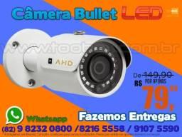 Câmera bullet ahd com Infravermelho Protec - Fazemos Entregas