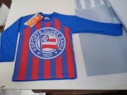 Camisa Térmica Infantil do Bahia com Proteção UV (Pedidos sob encomenda)