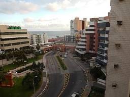 Apartamento 2/4, gabinete, vista mar -nascente - Pituba Ville