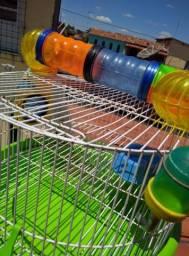 Vende-se gaiola pra hamster de três andares