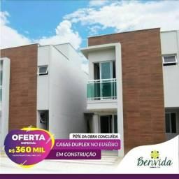 Casas em Condomínio à 5 minutos do FB Eusébio