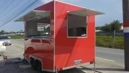 Projeto Reboque Trailer Food Lanches + Brinde Prj Carretinha
