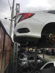 Civic EXL CVT ano 2018 sucata somente peças