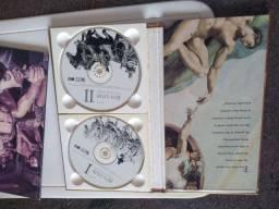 Box com 02 CDs da trilha sonora original do filme Ben Hur  (RARIDADE)