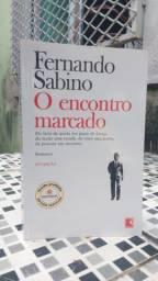 """Livro """"O Encontro Marcado - Fernando Sabino"""" - Novo"""